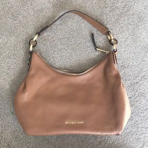 Michael Kors Isabella Brown Leather Purse